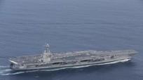 """Tàu sân bay Mỹ """"kiệt sức"""" vì tàu Nga đeo bám?"""