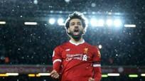 Salah phá kỷ lục của Ronaldo và Suarez?