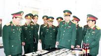 Bộ Tư lệnh Quân khu 4 thăm, kiểm tra Sư đoàn 324